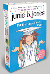 Junie B. Jones's Fifth Boxed Set Ever!