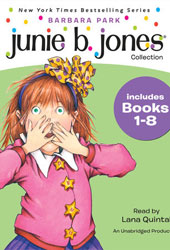 Junie B. Jones Collection: Books 1-8