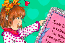 Random House | Junie B. Jones | Games | Junie B. Coloring Book