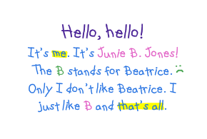 Random House Junie B Jones